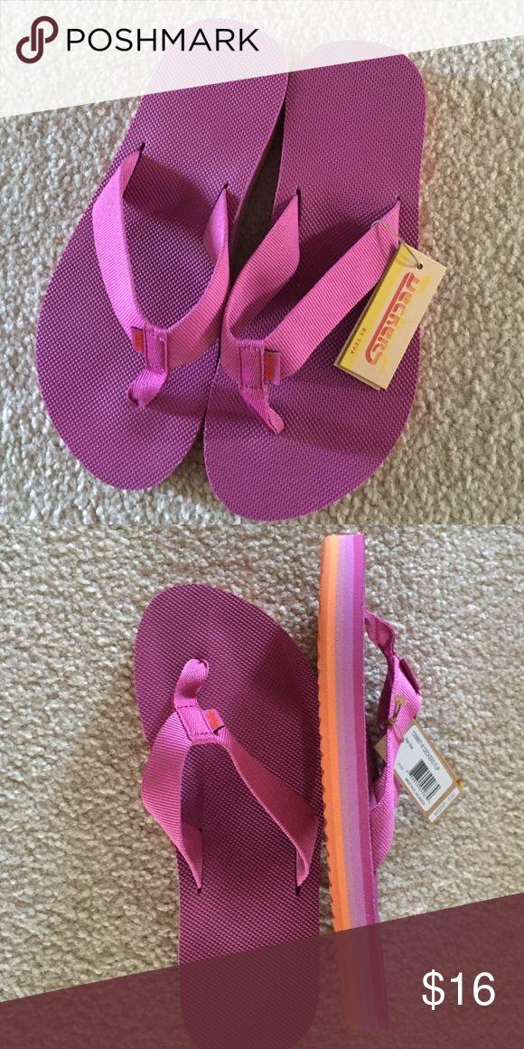 Teva flip flops Pink Teva flip flops Teva Shoes Sandals