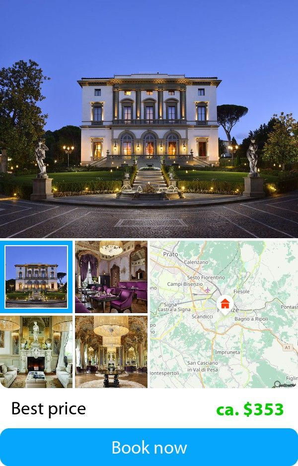 Villa Cora (Florenc, Italy) – Book this hotel at the cheapest price on sefibo.