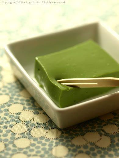いりこ食堂 ねっとりプルプル 抹茶ミルク豆腐 レシピ