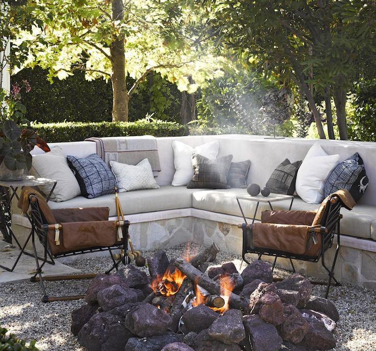Outdoor Sectional - Transitional - deck/patio - Jeffrey Alan Marks