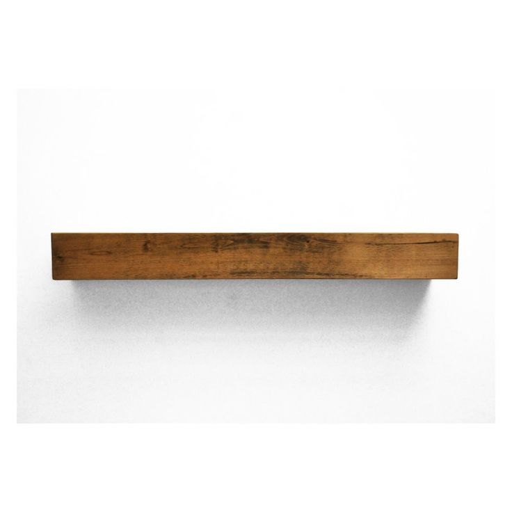 Dogberry Collections Farmhouse Fireplace Mantel Shelf - M-FARM-
