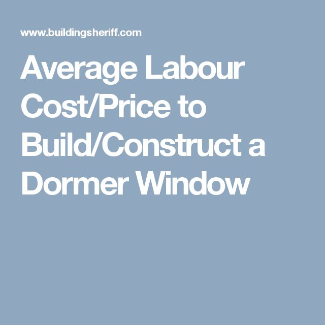 Average Cost Of A Dormer 28 Images Dormer Window Cost