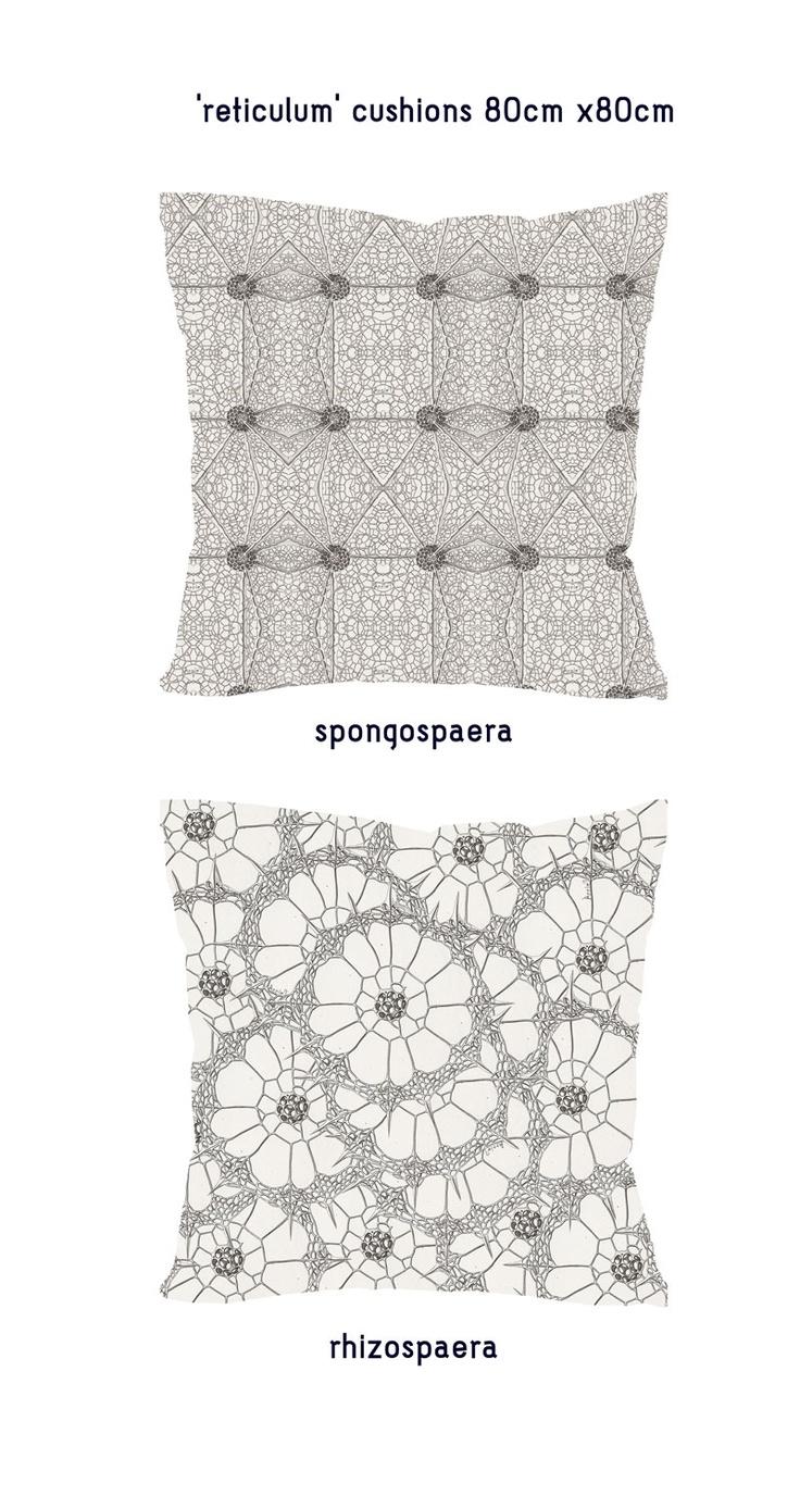 'reticulum' cushions