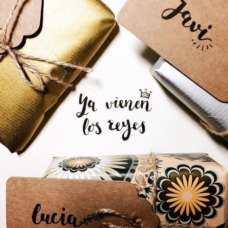Feliz día de Reyes! Cuidado con el haba y disfrutarlo en familia  #illustration #lettering #oldschool #chrismas #reyesmagos