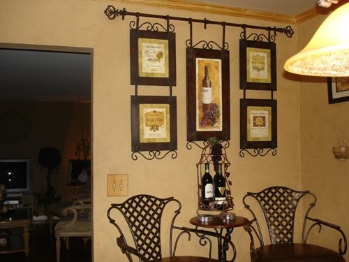 Old World Italian Themed Kitchen, I was going for a warm and inviting italian themed kitchen.  Its functional even though its small.  My husband and I did all the work.  We literally gutted the whole thing.  I made the cornice and the wall I did in a venetian plaster., , Kitchens Design