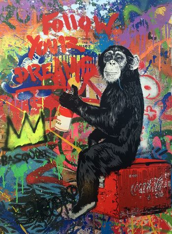 Best 25 mr brainwash ideas on pinterest mr pop is for Mural by mr brainwash