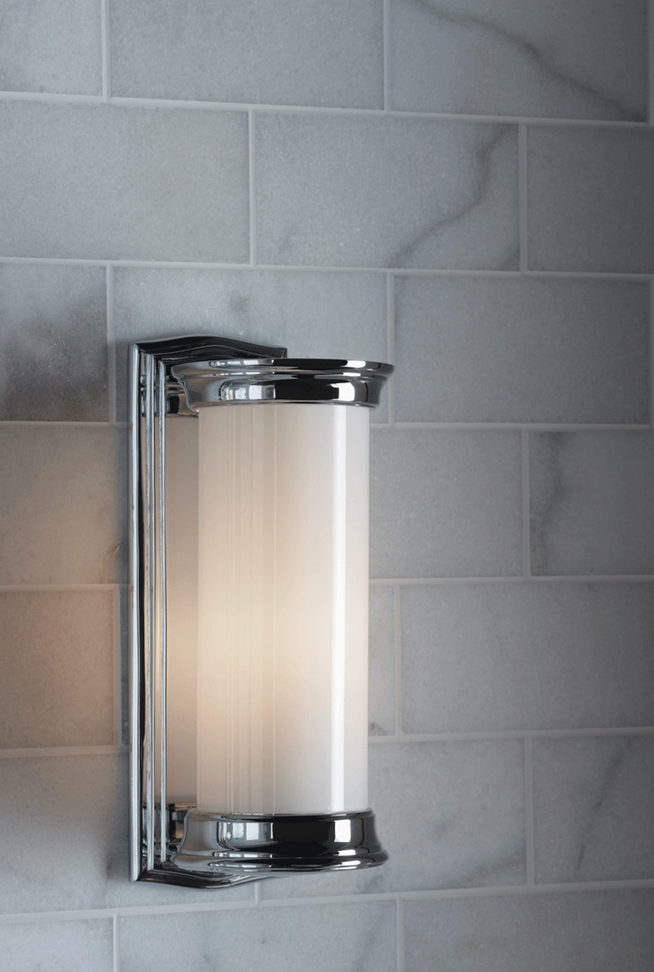 13 best kallista sconces sold at ann sacks images on pinterest ann sacks aspen x marble field in honed finish with kelly plumbing cylinder wall sconce amipublicfo Images