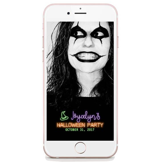 Halloween Geofilter Snapchat  Add fun to your party with this cool and modern way of capturing every moment and surprise your guests. Geofilter Store