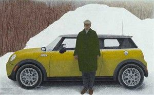 Artist and Car
