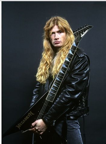 Dave Mustaine.