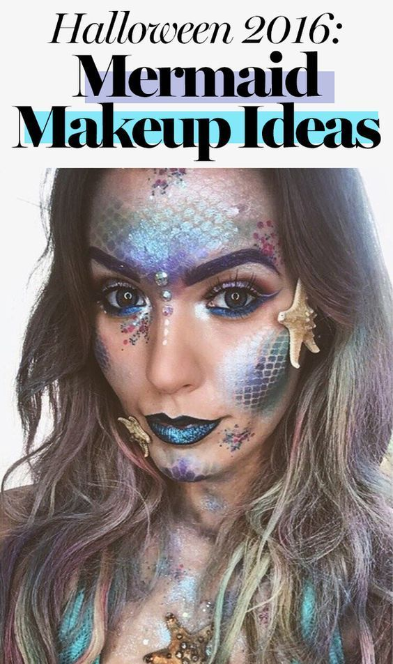 Mermaid makeup is taking over Instagram, and we're more than a little obsess