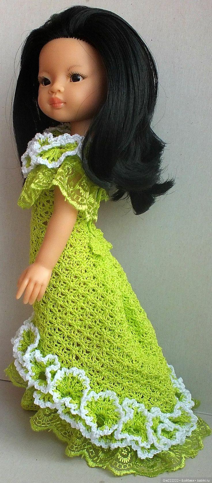 Бальное платье для паолочки цена снижена / Одежда для кукол / Шопик. Продать купить куклу / Бэйбики. Куклы фото. Одежда для кукол