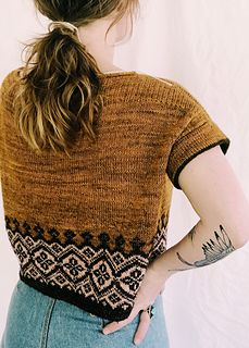 Navelli pattern by Caitlin Hunter | Summer sweaters, Knit ...