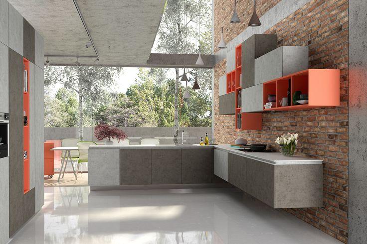 Imponujące dekory, które idealnie imitują prawdziwy beton, zarówno wizualnie, jak i w dotyku.