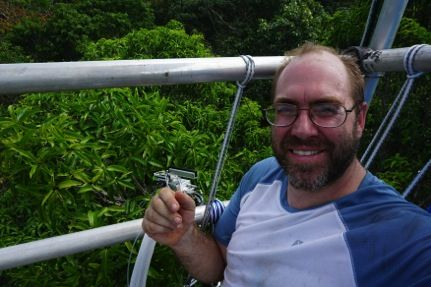SBU Alum Looks Deep in the Amazon for Clues to Climate Change