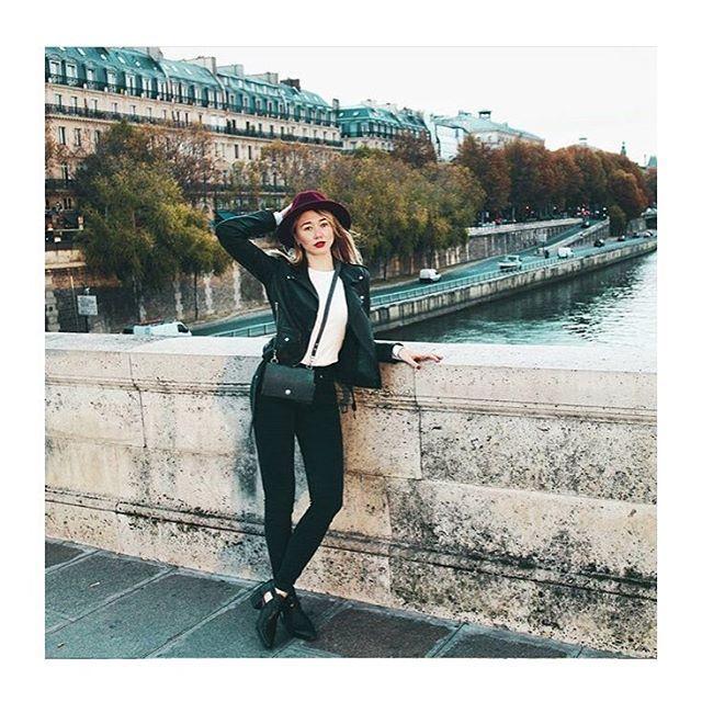 From Paris  photo via @iraraf  #newintelligentwoman #NiM_design #сумкабардачок
