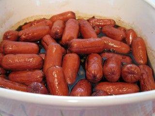 Saucisses en sauce sucrée   - Recettes du Québec