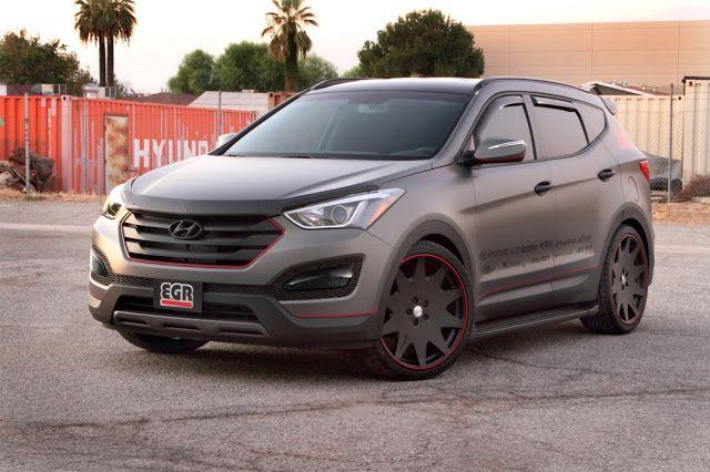 All Cars NZ: 2012 new Hyundai Santa Fe Sport by EGR
