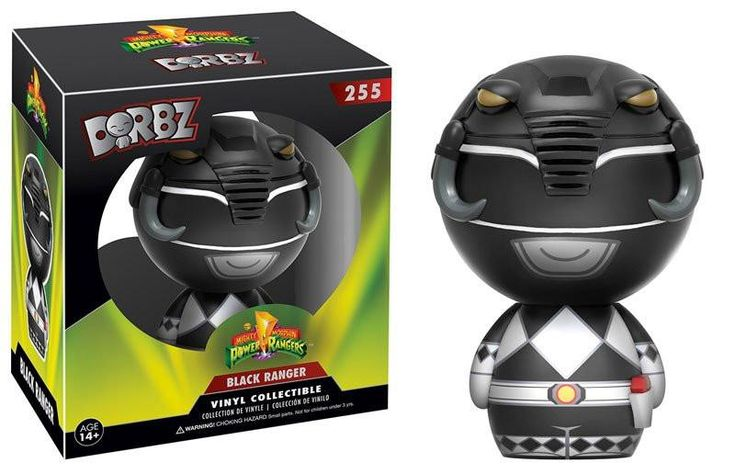 DORBZ: Mighty Morphin Power Rangers - Black Ranger