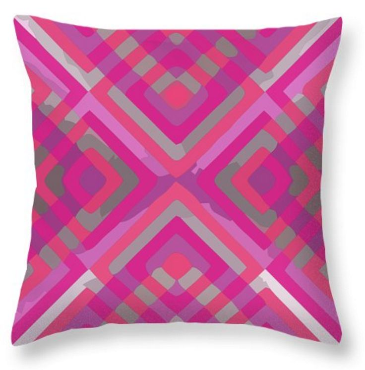 Simple pink and silver stripes with painted effect. I like it. A bold addition to your new home decor!