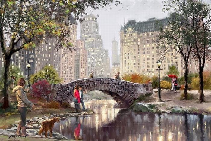 pinturas a óleo Richard McNeil