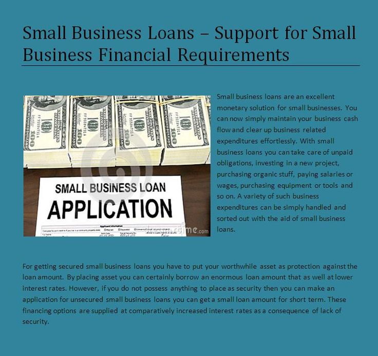 Pin by Small Business Loans on Small Business Loans - Pinterest