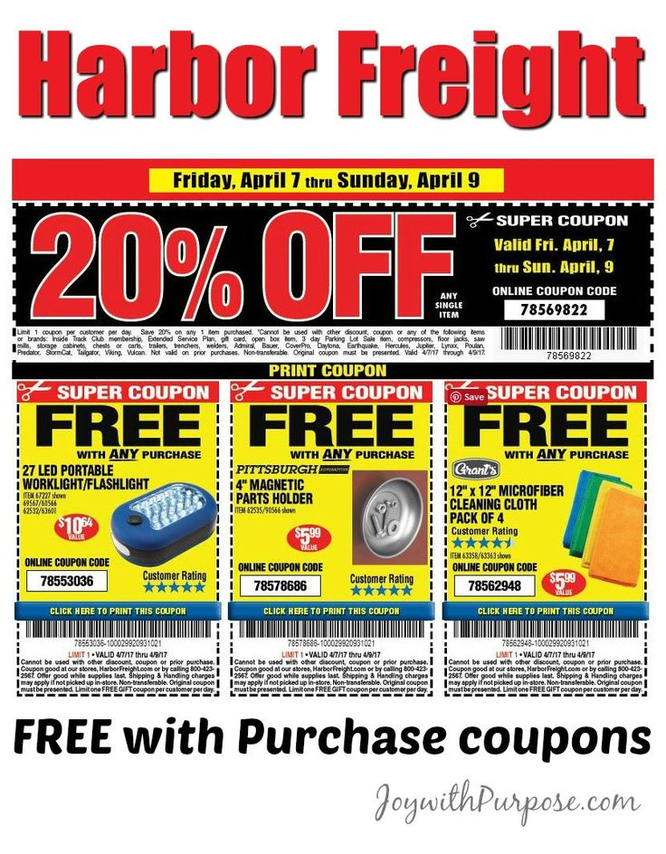 It's just a photo of Nifty Harbor Freight Super Coupon Printable
