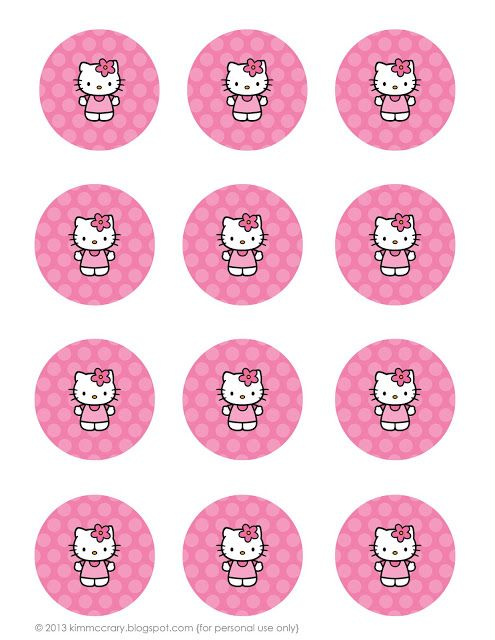 Printable hello kitty birthday stuff....love it