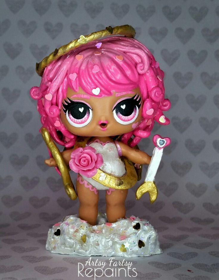 Benutzerdefinierte LOL Puppe Cupid – LOL Custom – #benutzerdefinierte #Cupid #Cu… – LOL für Mary