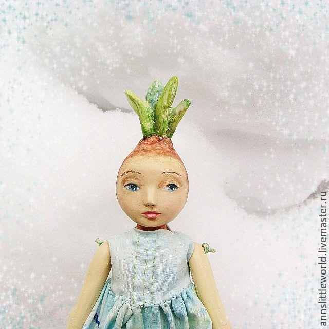 Купить Мускари авторская кукла ручной работы - весна, луковица, мускари, подснежник, крокус