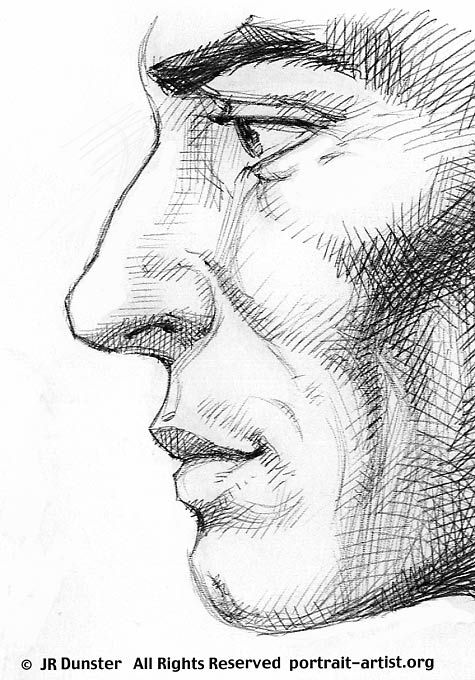 Shading and rendering: Portrait Art Basics. Junior Drawing Badge - cross-hatching to shade a face