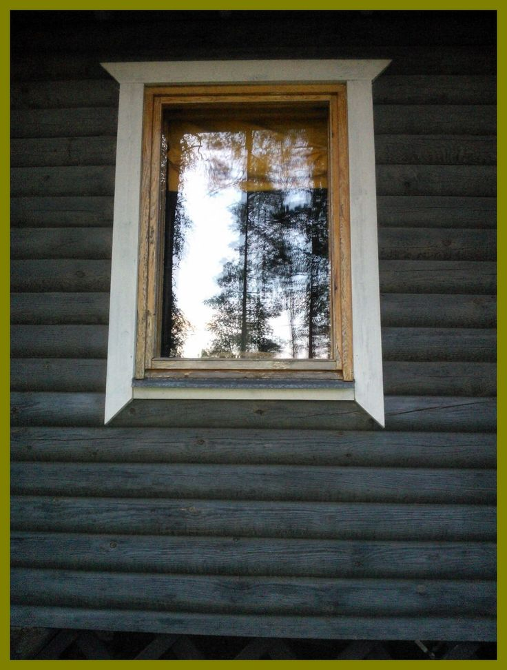 A window. A summer house