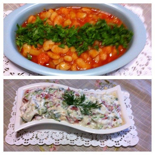 Kereviz ve brokoliyi tüketmenin yolları: sebzeli kuru fasulye; bir kereviz bir havuç bir patates bir soğan bir kase kuru fasulye salça ve yağ.  Salata; bir adet kereviz rendelenir 5 6 çiçek brokoli küçük doğranır 3 tane közlenmiş kırmızı biber kare kare doğranır bi kase sarımsaklı yoğurt ve iki kaşık mayonez eklenir hepsi karıştırılır. Afiyet olsun. #kurufasulye #salata #kereviz #brokoli #yoğurt #közlenmişbiber
