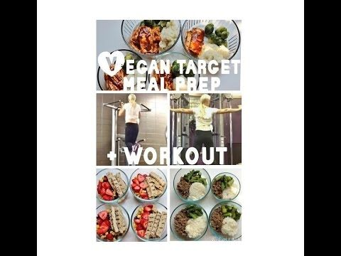 Vegan Target Bodybuilding Meal Prep | Vegan Macros | Vegan Protein Meal Prep | Female Back/Shoulder Workout  www.HollyBrownFit.com