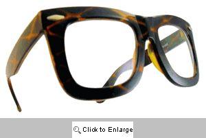 Status Clear Lens Glasses - 460LG Tortoise