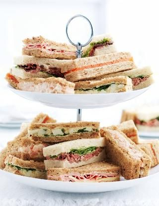 how to make high tea sandwiches