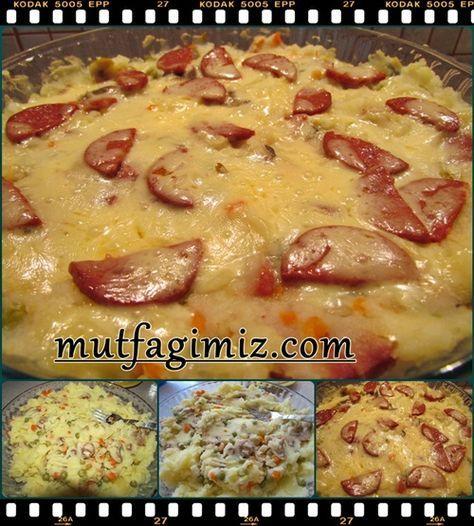 Sucuklu Patates değişik bir ara sıcak ya da kahvaltılık leziz bir tarif.. malzemeler : 5 orta boy patates 3 corba kasıgı tere yagı 1bucuk su bardagı rendelenmıs taze kasar yarım kavanoz garnıtur dilediğiniz kadar sucuk (ben yarım kangal kullandım) tuz*karabıber patateslerı haslayıp tereyagını ekleyerek ezıyoruz, ıcıne garınturu de ılave edıp her hangı bır borcamda duzluyoruz,uzerıne…