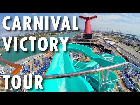 ▶ Carnival Victory Tour ~ Carnival Cruise Line ~ Cruise Ship Tour – PopularCruising.com