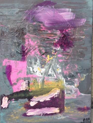 "Saatchi Art Artist Dan Caissie; Painting, ""9 to 5"" #art"