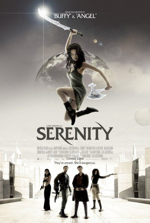 #Serenity Movie Poster (by Empire Design - 2005 IMP awards) #Firefly