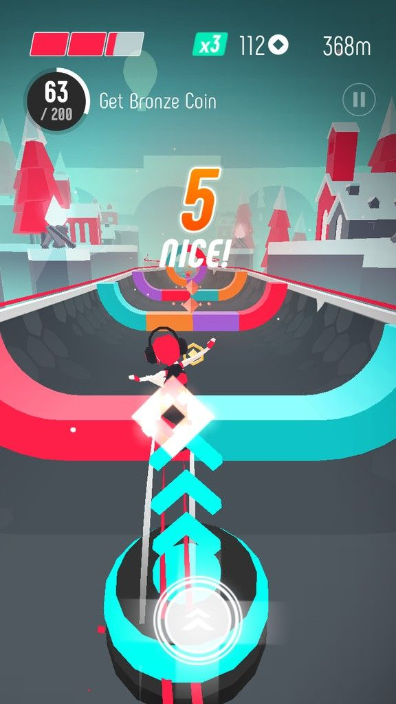 FLIP: Surfing Colors | game ui | Game app, Game ui design, Game ...