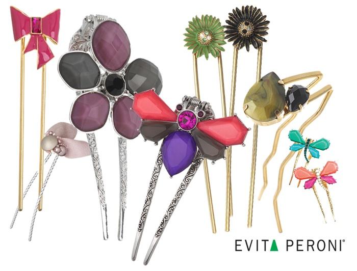 Evita Peroni hair accessories