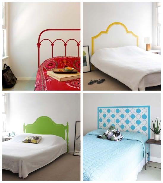 No Headboard Ideas best 25+ faux headboard ideas on pinterest | cheap bedroom decor