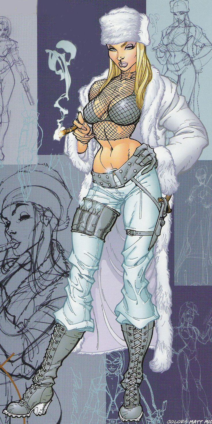 Danger Girl - Natalia Kassle by J. Scott Campbell