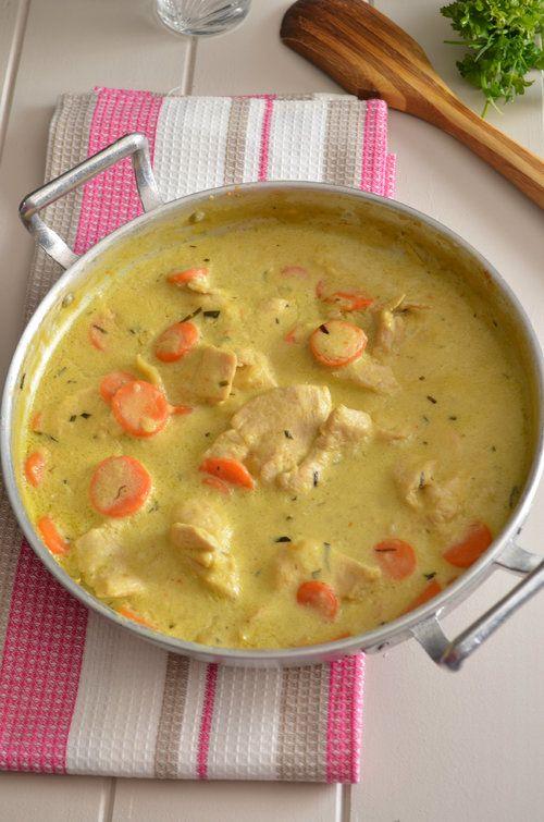 Mijoté de Poulet à la Moutarde & Estragon Plus