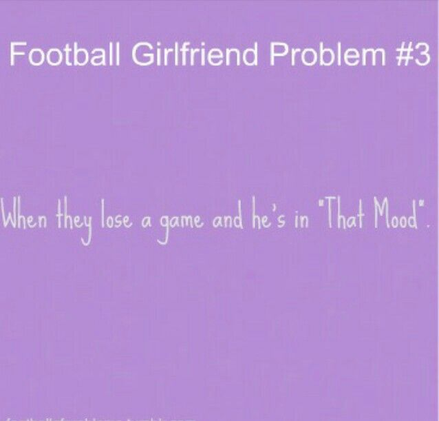 Football Girlfriend Problem #3