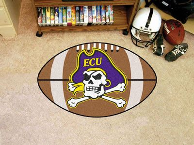 Football Mat - East Carolina University