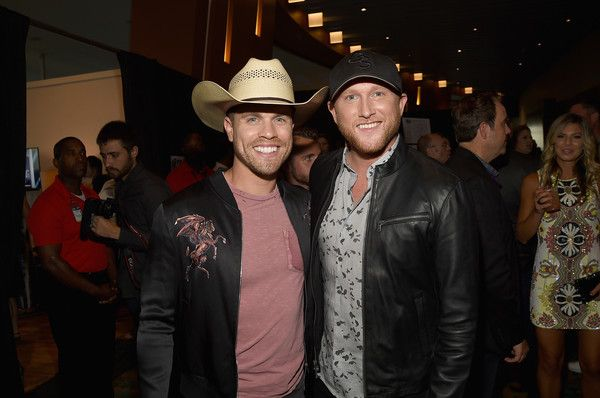 Cole Swindell Photos - Dustin Lynch and Cole Swindell attend the 2017 CMT Music awards at the Music City Center on June 7, 2017 in Nashville, Tennessee. - 2017 CMT Music Awards - Backstage & Audience