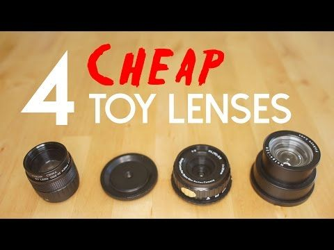 """Capture distinct images with your mirrorless camera for cheap with these four """"toy"""" lenses"""