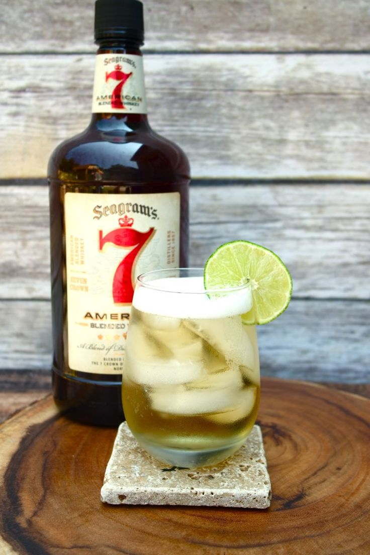This is my spin on a traditional Moscow Mule and it is delicious and refreshing. Having a smooth flavor profile this Seagrams 7 is perfect for my taste.